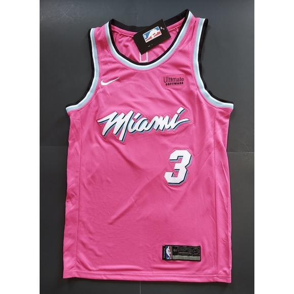 Nike Shirts Dwayne Wade Miami Heat Jerseypink Poshmark